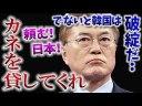 【韓国】頼む日本!カネを貸してくれ「日韓スワップないと韓国は破綻する」の画像