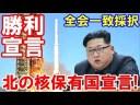 【北朝鮮】核実験は中止するが破棄するとは言ってない!北朝鮮が核保有国宣言!の画像
