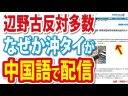 【沖縄県民投票】辺野古反対多数について、沖縄タイムスが中国語で配信した件の画像