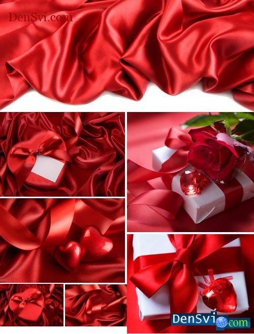 Роскошные красные праздничные фоны