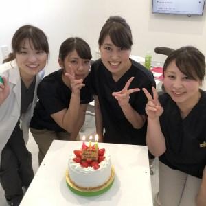 辻の誕生日会