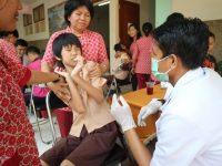 Peduli Anak dengan Sindrom Down, Mahasiswa FKG UNHAS Gelar Penyuluhan Kesehatan Gigi