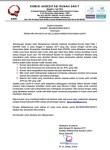 Surat Edaran KARS: Salah Satu Syarat Rumah Sakit Lulus Akreditasi Dipimpin Oleh Dokter/Dokter Gigi