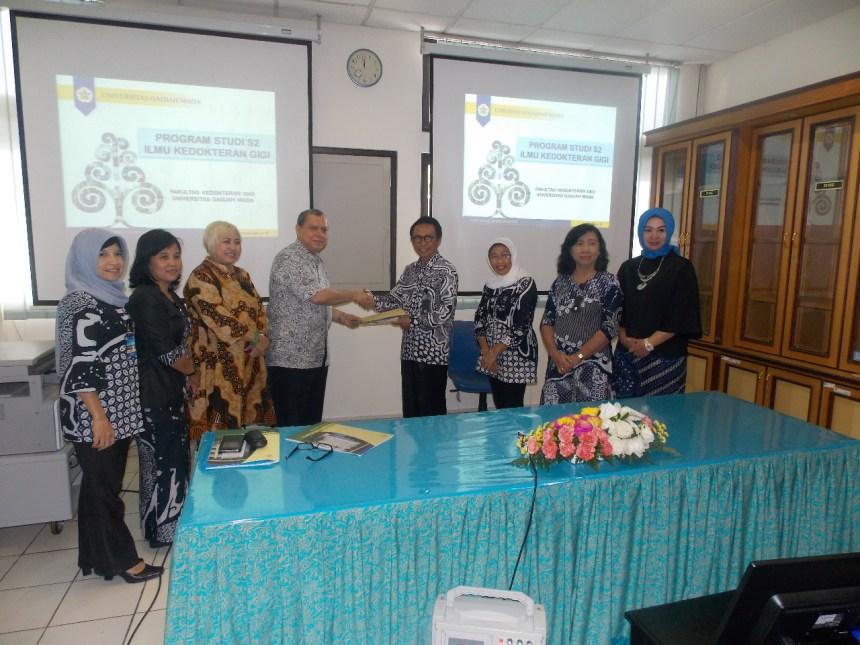 Selamat Prodi S2 Ilmu Kedokteran Gigi FKG UGM Raih Akreditasi A