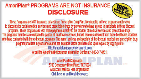 AmeriPlan Dental Disclosure
