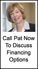 Call Pat Now At 215-646-6334 To Discuss Financing Options