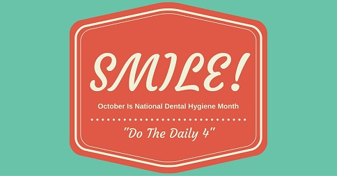 Do the Daily in National Dental Health Month and Every Day!