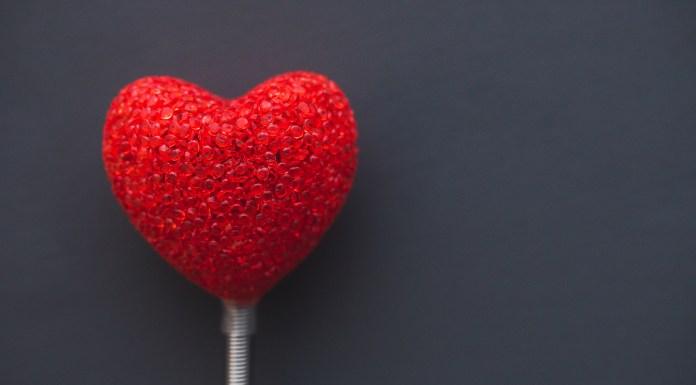 Valentines day heart.