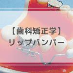 歯科矯正学:リップバンパー