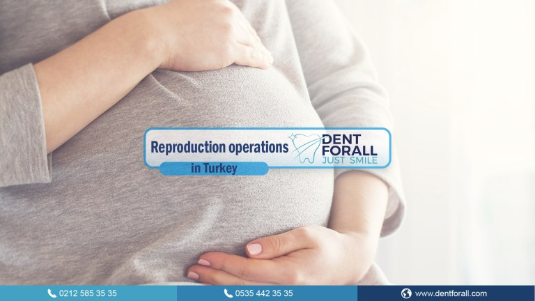 Reproductive biology in Turkey and its types (IVF, and therapeutic activities)