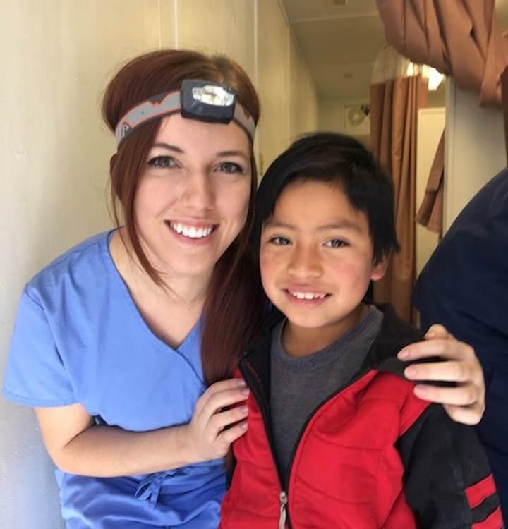 Midwestern University Dental volunteer team in Guatemala