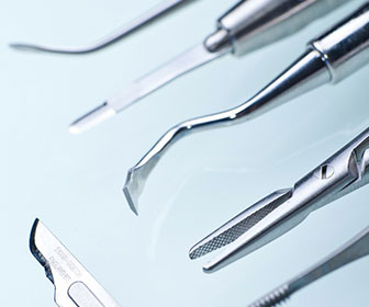 herramientas de un dentista