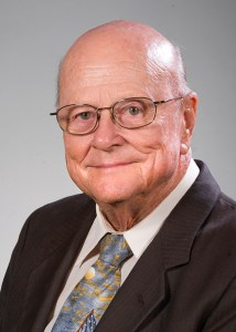 Dr. H. Eldon Attaway, 1954 alumnus and clinical associate professor in orthodontics