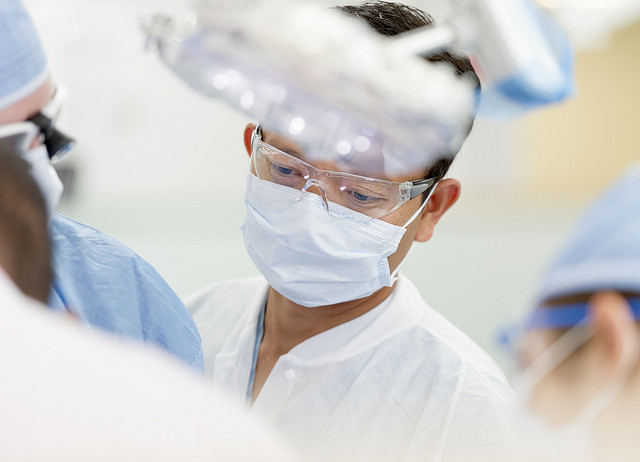 Dr. Don Le works in the Urgent Care Clinic at the UT Houston dental school