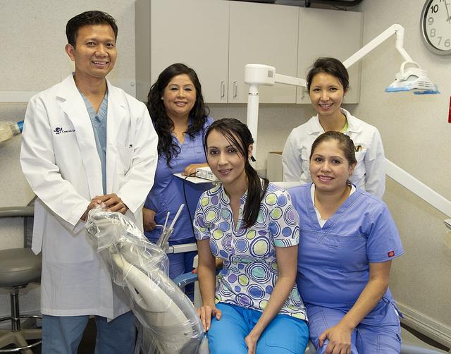 Centro Dental team photo