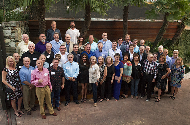 A group photo of the Class of 1985 during the Sept. 19 reunion.