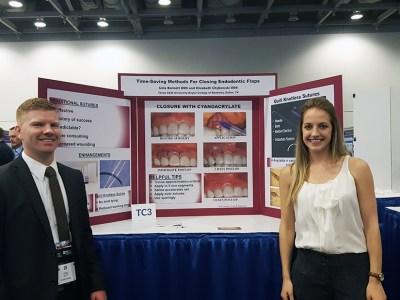 Dr. Cole Barnett and Dr. Elizabeth Chybowski
