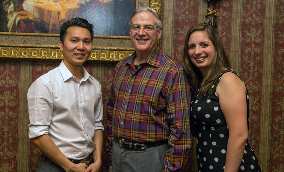 Dr. Viet Ho, Dr. William Nagy, Dr. Andreina Cordido Enriquez
