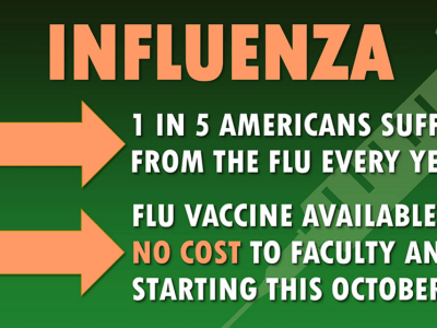 Flu vaccine inforgraphic