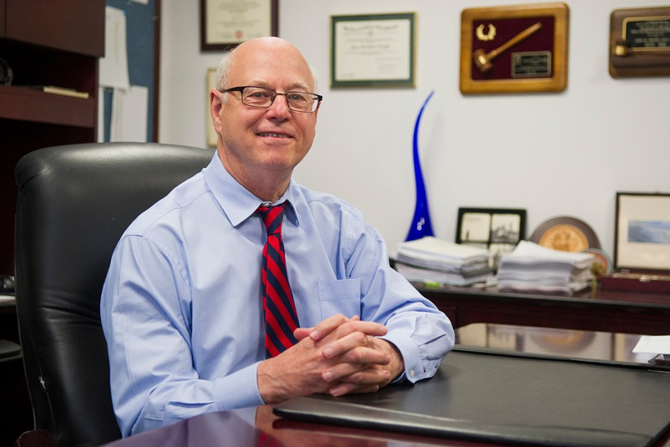 Dr. John Wright, Regents Professor in diagnostic sciences at Texas A&M College of Dentistry