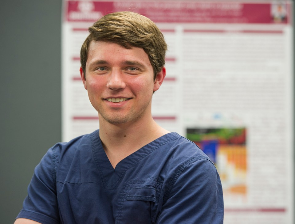 Zach Pekar, first-year dental student at Texas A&M College of Dentistry