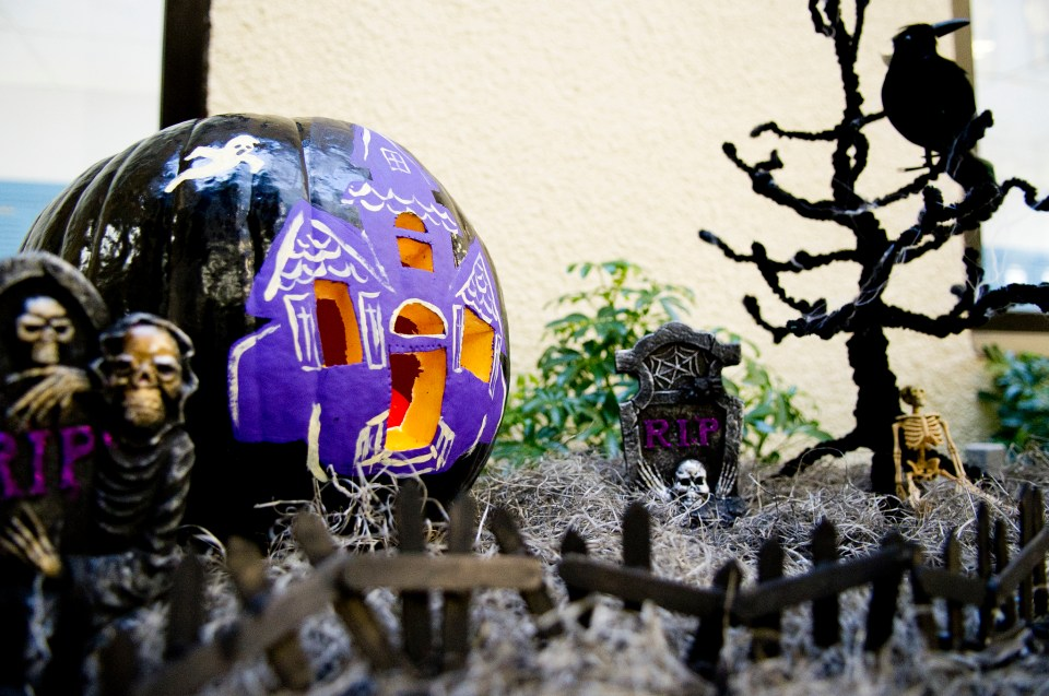 State Employee Charitable Campaign Pumpkin Decorating