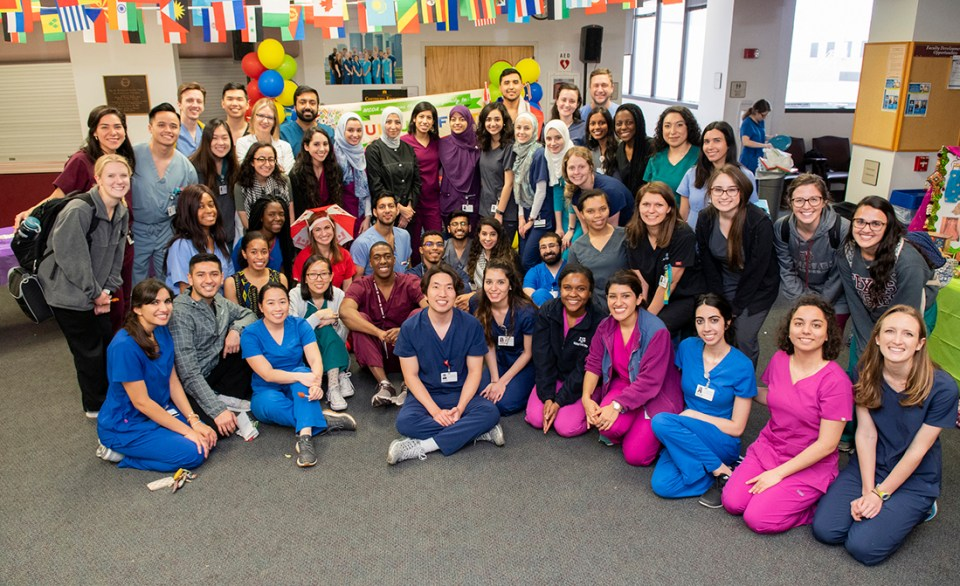 Many students, including Muslim Student Dental Association organizers, hosted booths at Culture Fest.