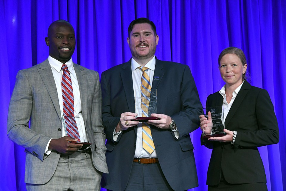 Dr. Wade Barker AAOMS Award