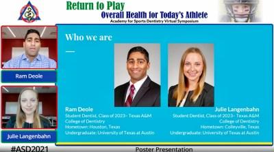 Presentation to Academy for Sports Dentistry