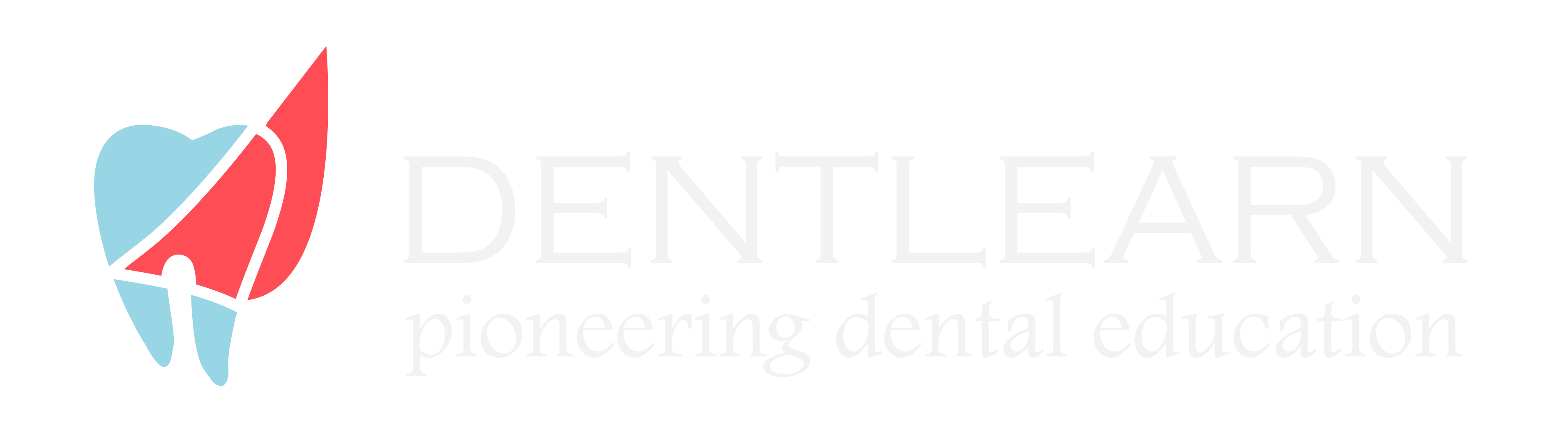 DentLearn Dental Courses Logo White