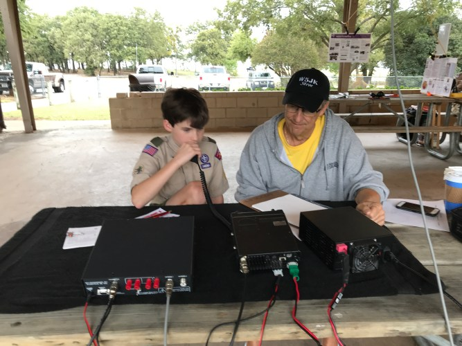 Amateur Radio in Action