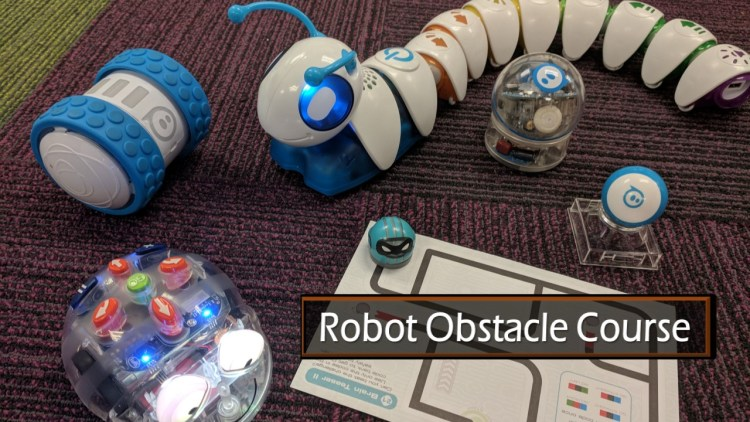 TWU Coding a Robot Obstacle Course