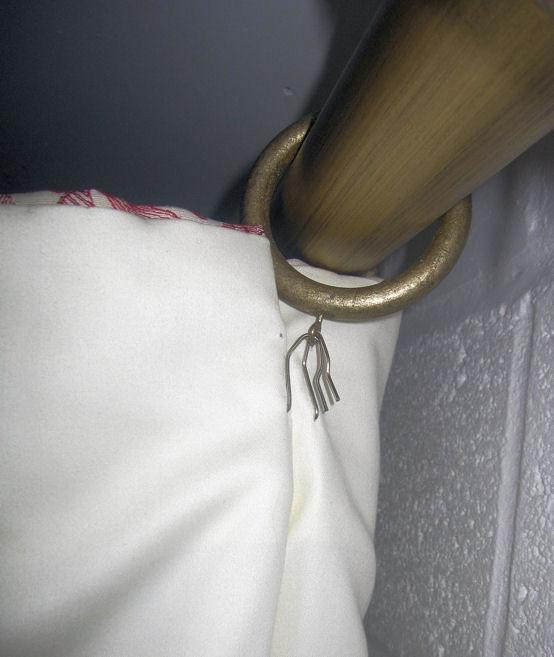 فلسفي حصانة غينيس how to put curtain hooks on rings