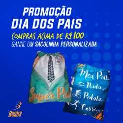 Sacolinha Personalizada Curitiba – Promoção Dia dos Pais