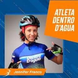 Roupa para ciclismo Curitiba – Triatleta Jennifer Franco