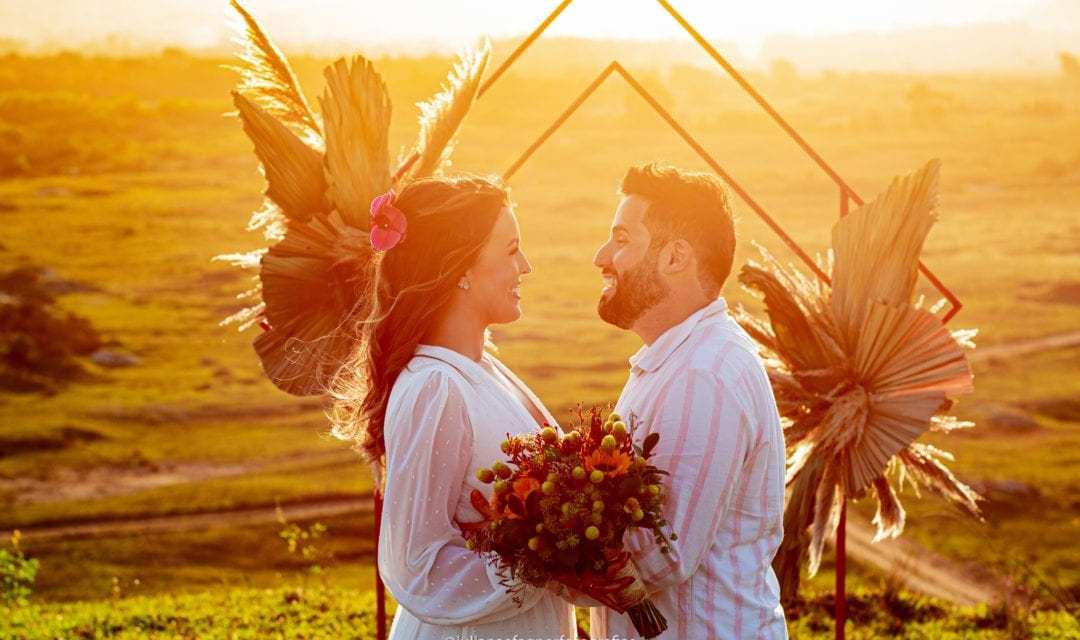 Tendência – 60 altares geométricos para casamentos