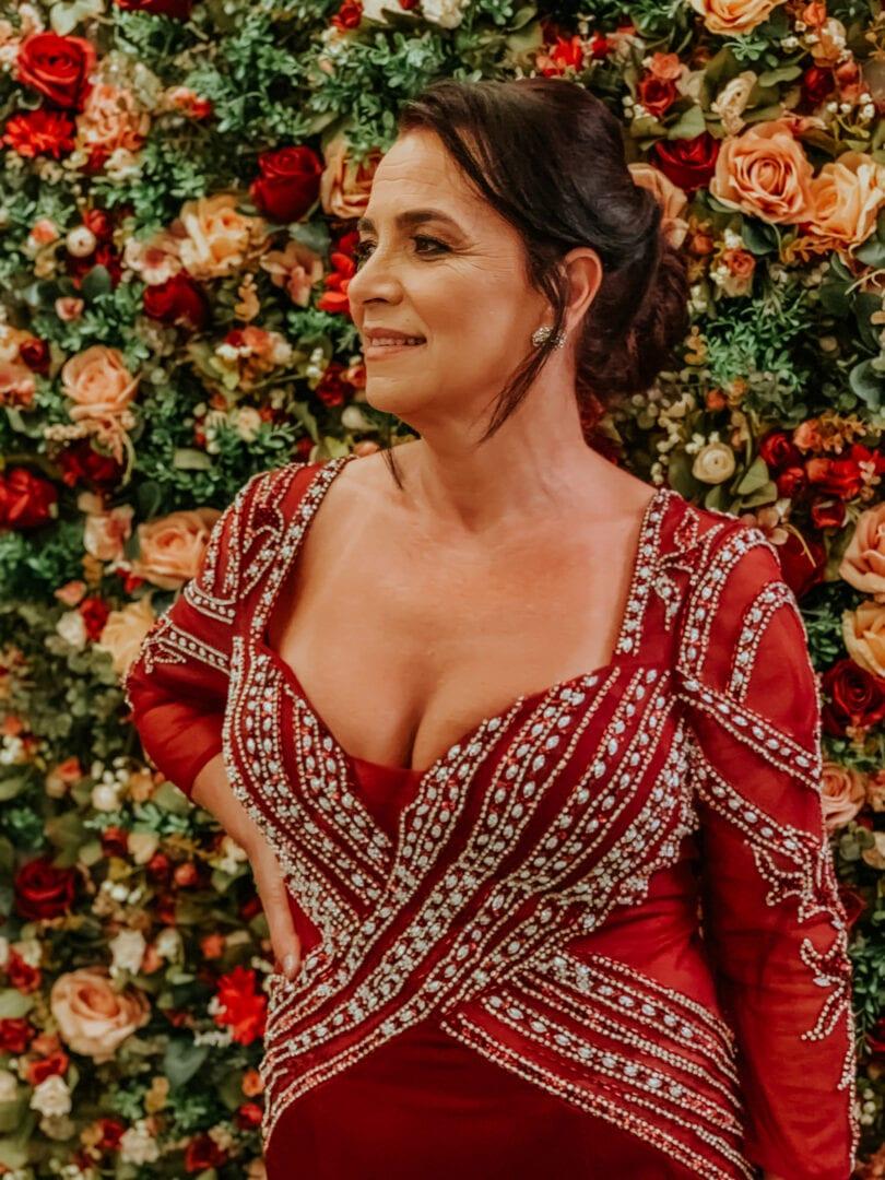 vestido mãe de noivos