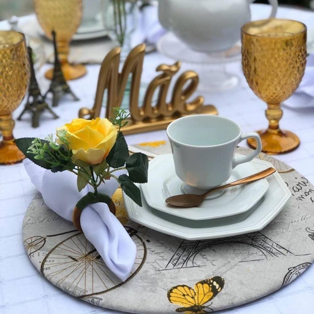 inspirações de mesa posta para o dia das mães