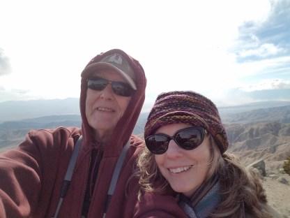 Alexandra and Jim at Keys View