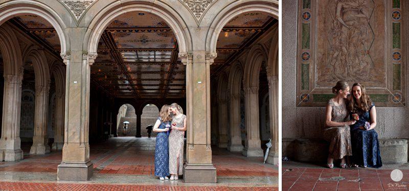 Andressa Amp Beth Elope In Central Park Ladies Pavilion Wedding
