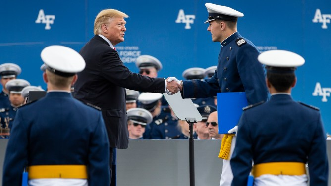 Air Force Academy Graduation – CBS Denver