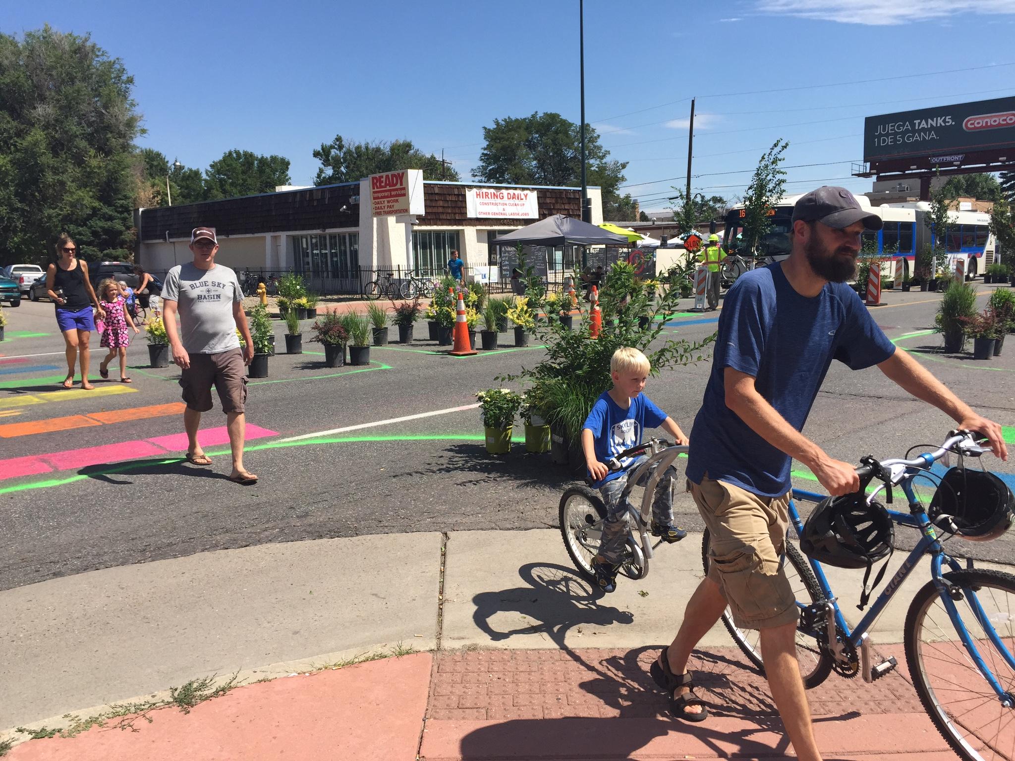 West Colfax Demo Proves Neighborhood Needs Deserves Complete Street