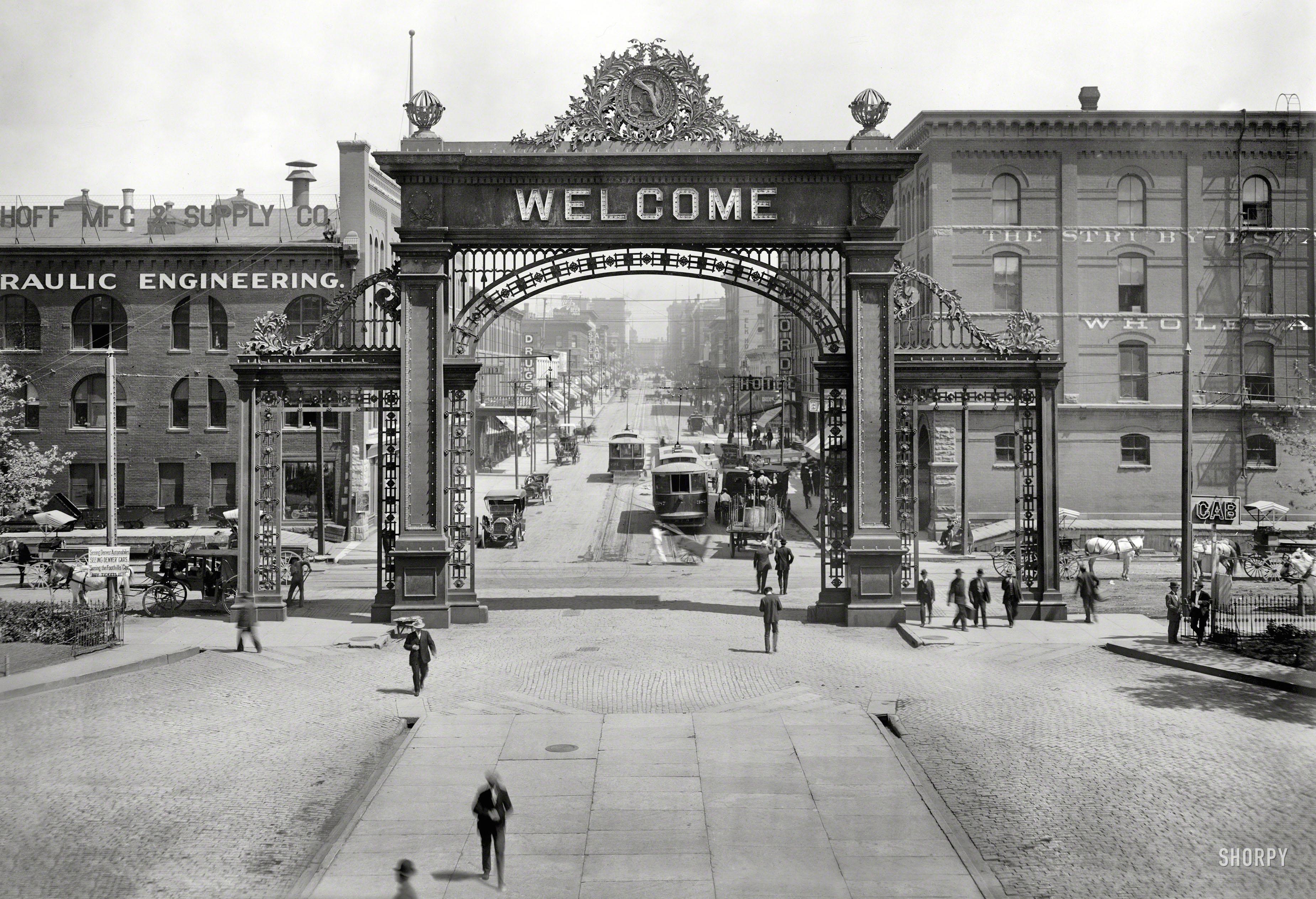 17th-Welcom Arch