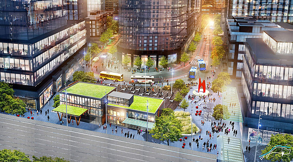 Denver S Plan To Turn Its Lifeless Parking Crater Into A