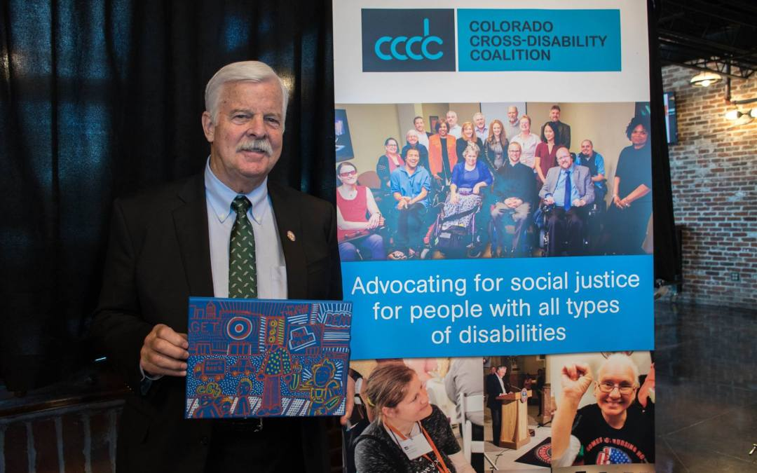 Auditor O'Brien Receives Award for Work on Behalf of People with Disabilities