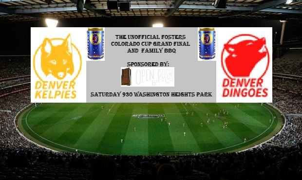 The Unofficial Fosters Colorado Cup Grand Final