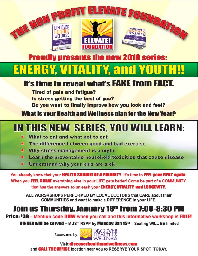 energy vitality and youth