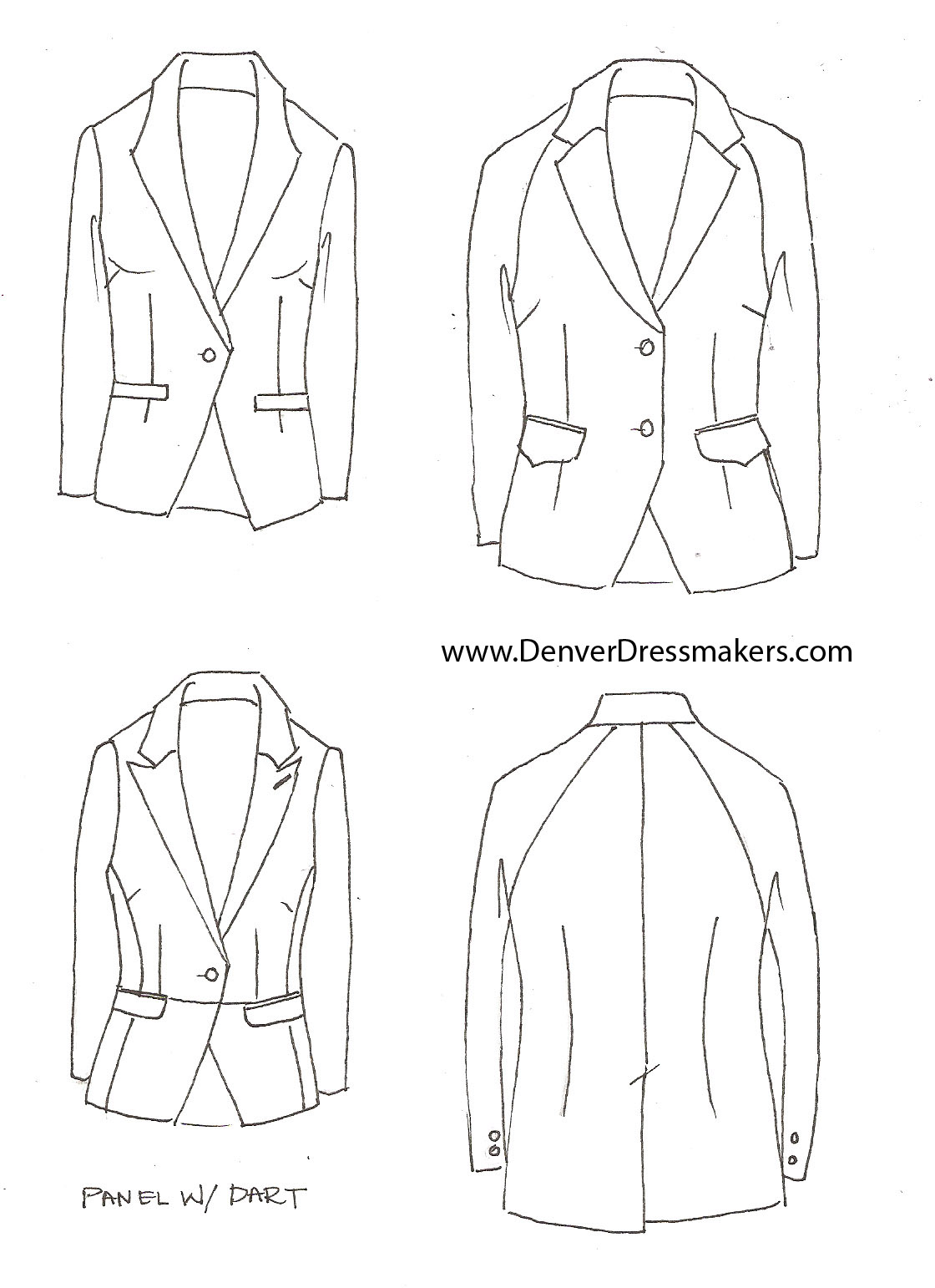 Custom Suits And Tuxedos For Women