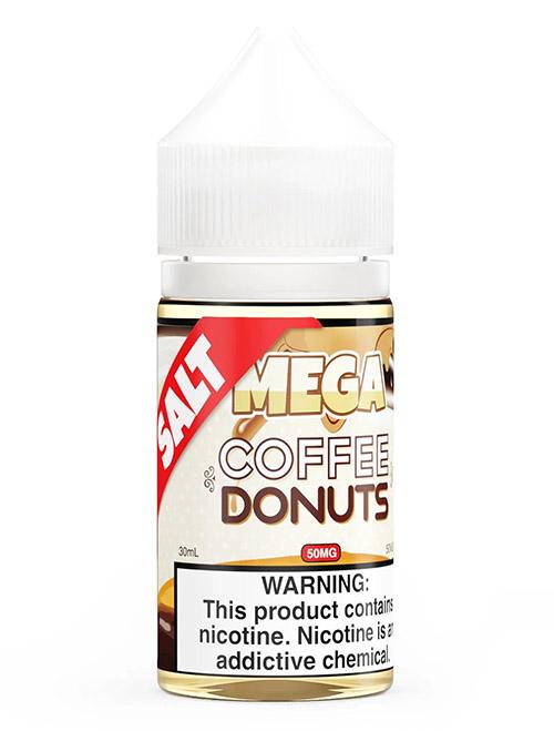 Same day Delivery | MEGA ELIQUIDS Salt coffee donuts vapestore