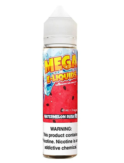 Sameday Delivery |Watermelon rush Ice mega eliquid 60ml - Online vapestore